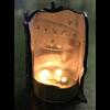 Bre Kathman - Sparkly Snowflake Candle Wrap