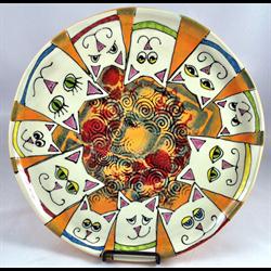 Laura Fraedrich - The Crazy Cat Lady Favorite Plate