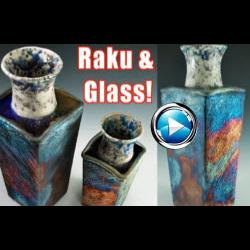 Michael Harbridge - Combining Clay, Glass & Raku