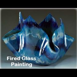 Michael Harbridge - Fired Glass Painting