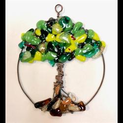 Cara DiMassimo - Fused Glass Tree of Life