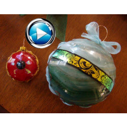 Cara DiMassimo - Creative Christmas Ornaments